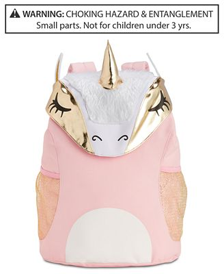 Global Design Concepts Unicorn Backpack Little Big Girls All