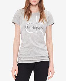 Calvin Klein Jeans Fashion Print Logo Graphic T-Shirt