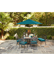 CLOSEOUT! Glenwood Outdoor Dining Collection, with Sunbrella® Cushions, Created for Macy's