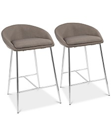 Matisse Counter Stool (Set of 2), Quick Ship