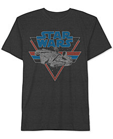 Star Wars Millennium Falcon Men's T-Shirt by Hybrid Apparel