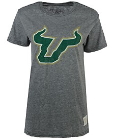 Retro Brand Men's South Florida Bulls Tri-Blend Logo T-Shirt
