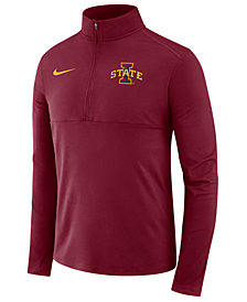 Nike Men's Iowa State Cyclones Performance Half-Zip Pullover