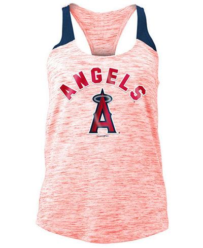 5th & Ocean Women's Los Angeles Angels Space Dye Tank