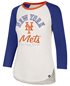 '47 Brand Women's New York Mets Vintage Raglan T-Shirt