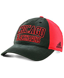 adidas Chicago Blackhawks Sandblasted Slouch Cap