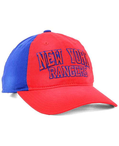 on sale 5b2f0 86bbe ... adidas New York Rangers Sandblasted Slouch Cap ...