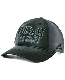 adidas Vegas Golden Knights Sandblasted Slouch Cap