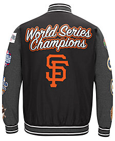 G-III Sports Men's San Francisco Giants Varsity Comm Patch Jacket