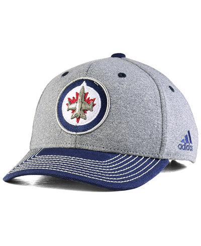 adidas Winnipeg Jets Heather Line Change Cap