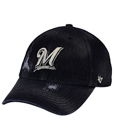 '47 Brand Milwaukee Brewers Dark Horse CLEAN UP Cap