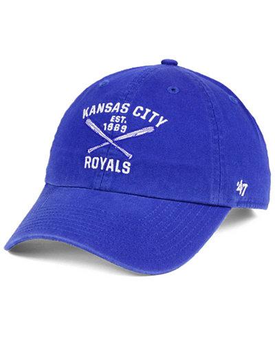 '47 Brand Kansas City Royals Axis CLEAN UP Cap