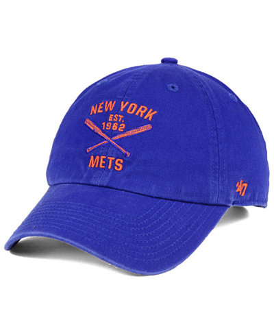 '47 Brand New York Mets Axis CLEAN UP Cap