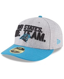 New Era Carolina Panthers Draft Low Profile 59FIFTY FITTED Cap