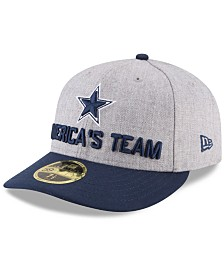 New Era Dallas Cowboys Draft Low Profile 59FIFTY FITTED Cap