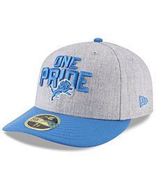 New Era Detroit Lions Draft Low Profile 59FIFTY FITTED Cap