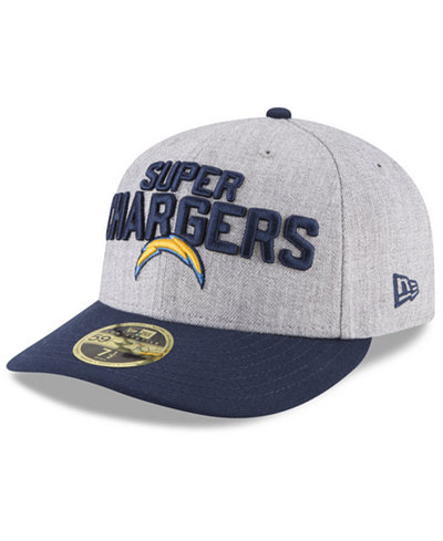 newest 10726 fac9d cheapest new era los angeles chargers draft low profile 59fifty fitted cap  cc825 e1ee0