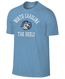 Retro Brand Men's North Carolina Tar Heels Arch Logo Dual Blend T-Shirt