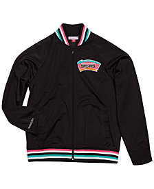 Mitchell & Ness Men's San Antonio Spurs Top Prospect Track Jacket