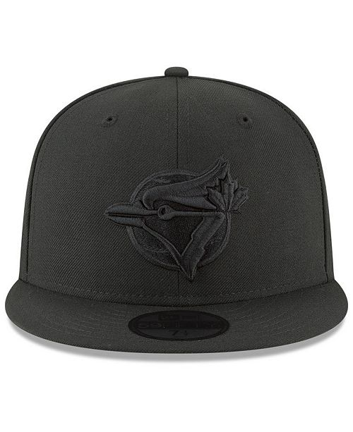 New Era Toronto Blue Jays Blackout 59FIFTY FITTED Cap - Sports Fan ... 3dc79458509