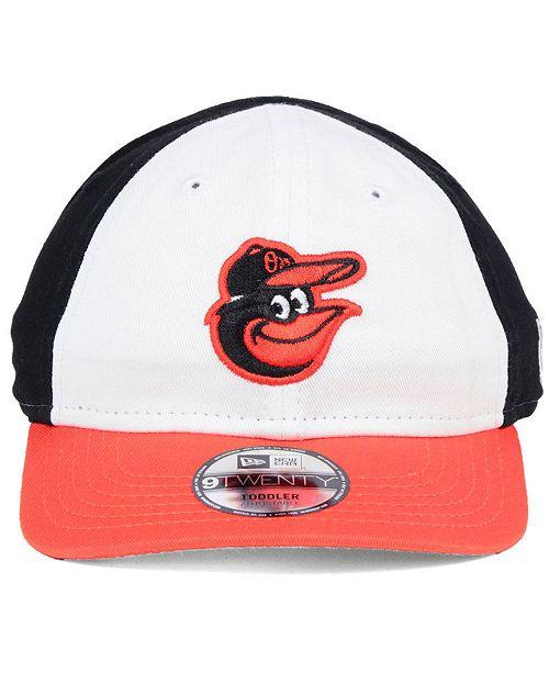 best loved 44c59 405f0 ... 9TWENTY Cap  New Era Boys  Baltimore Orioles Jr On-Field Replica 9TWENTY  ...