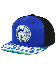 Mitchell & Ness Minnesota Timberwolves Winning Team Snapback Cap