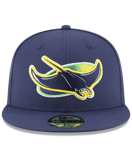 New Era Tampa Bay Rays Authentic Collection 20th Anniversary 59FIFTY FITTED  Cap - Sports Fan Shop By Lids - Men - Macy s 7f2d848b8ee7