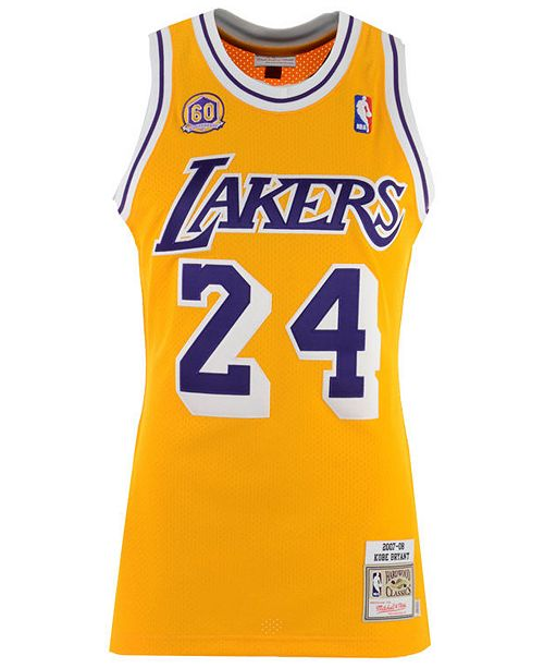 e8f1eb54 Mitchell & Ness Men's Kobe Bryant Los Angeles Lakers Authentic Jersey ...