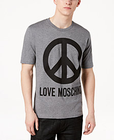Love Moschino Men's Graphic-Print Cotton T-Shirt