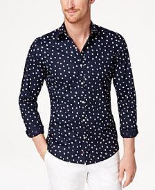 Michael Kors Men's Dot-Print Shirt