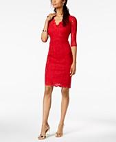 163692c4792 Thalia Sodi Lace Sheath Dress