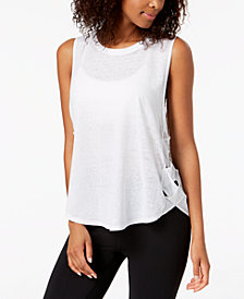 Gaiam Posey Lattice Tank Top