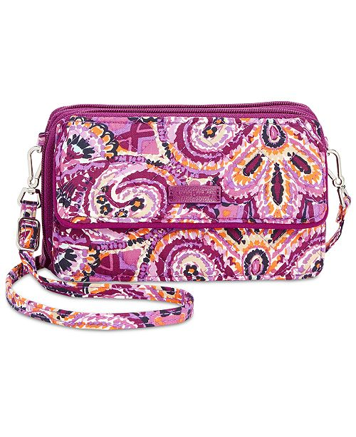 fed4be4b96ed Vera Bradley Iconic RFID All in One Crossbody - Handbags ...