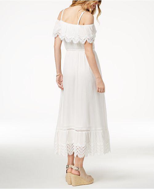 American Rag. Juniors  Ruffled Maxi Dress 3aa7ffe8c