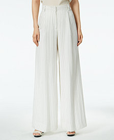 Rachel Zoe Striped Flare-Leg Pants