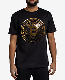 Hudson NYC Men's Bitcoin Embossed T-Shirt