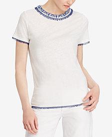 Lauren Ralph Lauren Pom-Pom T-Shirt