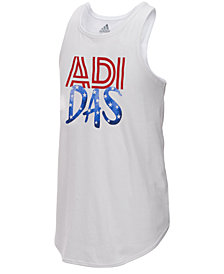 adidas Graphic-Print Tank Top, Toddler Girls