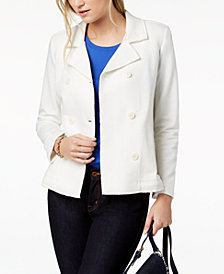 Tommy Hilfiger Double-Breasted Blazer, Created for Macy's