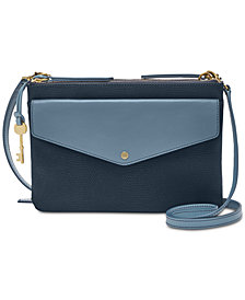 Fossil Devon Small Colorblock Crossbody