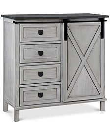 Channe 4-Drawer Cabinet, Quick Ship
