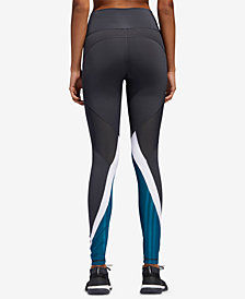 adidas Colorblocked High-Rise Leggings