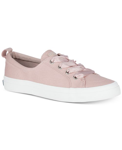 Sperry Women's Crest Vibe Memory-Foam Lace-Up Sneakers Women's Shoes 0M7ChJN