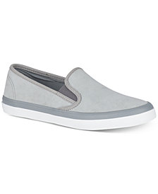 Sperry Women's Seaside Suede Memory Foam Slip-On Fashion Sneakers