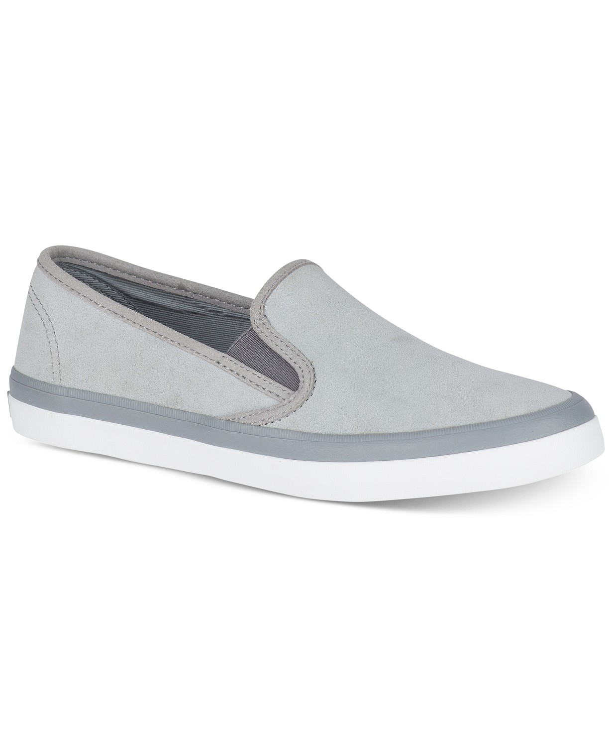 Sperry Women's Seaside Suede Slip-On Fashion Sneakers