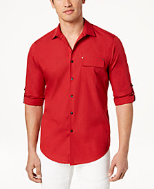 I.N.C. Men's Utility Shirt, Created for Macy's