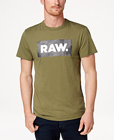 G-Star RAW Men's Shelo Logo-Print T-Shirt, Created for Macy's