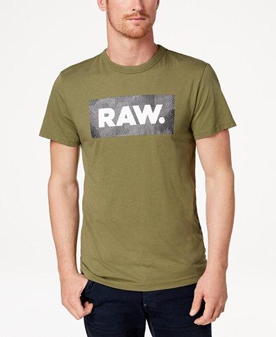 G-Star RAW Men's Shelo Logo-Print T-Shirt, Created for Macy's