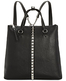 I.N.C. Faany Studded Convertible Backpack, Created for Macy's