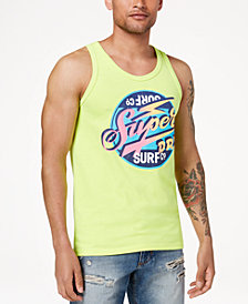 Superdry Men's Reworked Classic Surf Logo-Print Tank